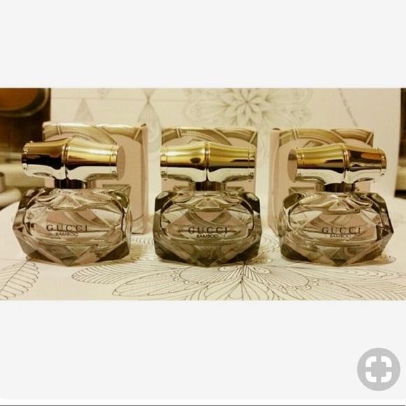 Gucci Makeup Bamboo Eau De Parfum Minis X3 New Poshmark
